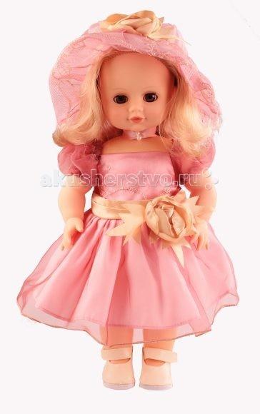 Весна Кукла Инна 48Кукла Инна 48Кукла Весна Инна 48 непременно понравится вашей дочери.   Особенности: Эта замечательная игрушка выглядит в точности как настоящая девочка.  Куколка одета в красивое розовое платьице, а на ее головке красуется милая шляпка такого же цвета. Игрушка снабжена звуковым устройством, позволяющим воспроизводить несколько фраз на русском языке.<br>