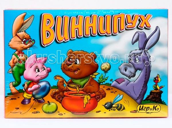 Игры для малышей Игр и Ко Настольная игра Винни Пух игр и ко настольная игра дюймовочка