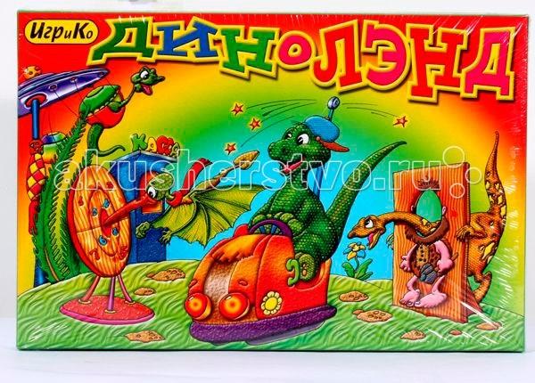 Игры для малышей Игр и Ко Настольная игра Диноленд игры для малышей mertens игра маленький крот 13732