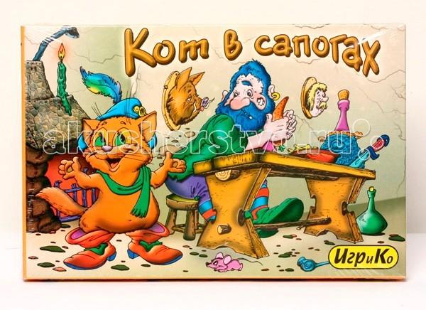 Игры для малышей Игр и Ко Настольная игра Кот в сапогах росмэн кот в сапогах 21068