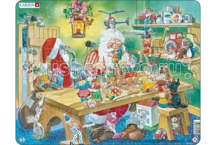 Купить Пазлы, Larsen Пазл Мастерская Санта Клауса