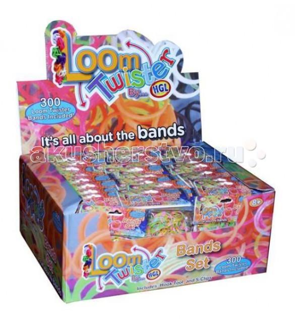 Наборы для творчества Loom Twister Набор цветных резинок для плетения фенечек SV11823 наборы для поделок loom набор резинок для плетения 2000 резинок крючек рагатка s зажим