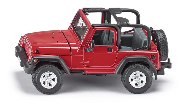Машины Siku Автомобиль Jeep Wrangler faduies 1 pair 7 inch black round led headlights with h4 high low beam for jeep wrangler jk tj hummer h1