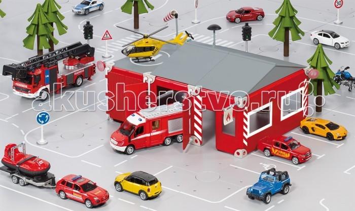Игровые наборы Siku Набор Пожарная бригада игровой набор siku набор транспорта и дорожных знаков