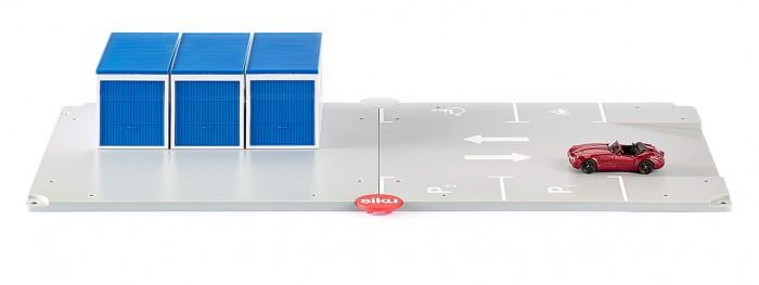 Игровые наборы Siku Набор Гараж и стоянка для автомобиля машины siku набор машинок 3 шт