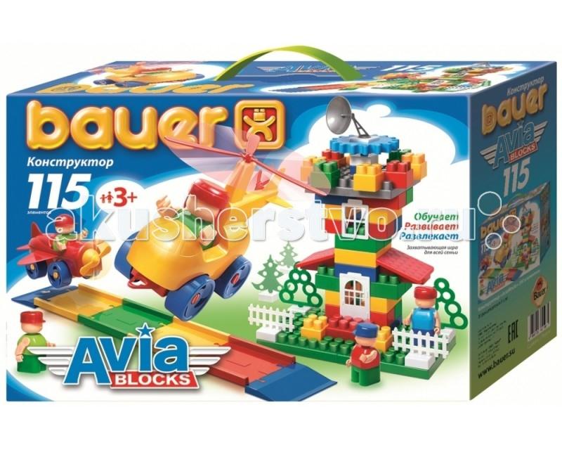 Конструкторы Bauer Avia 115 деталей игрушка конструктор bauer avia 319 188083
