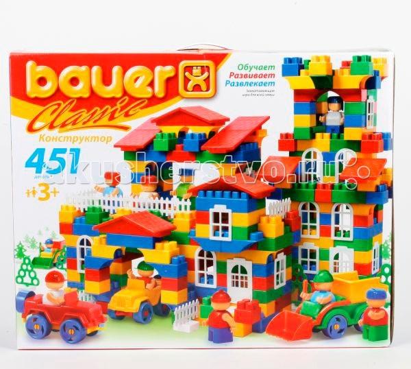 Конструкторы Bauer Classic 451 деталь конструктор кроха classik 201 деталь