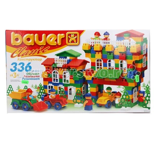 Конструкторы Bauer Classic 336 деталей bauer