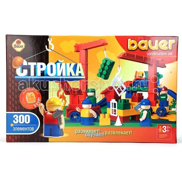 Конструкторы Bauer Стройка 300 деталей конструктор bauer стройка 366