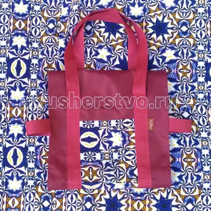 Игровые коврики OnlyCute Большой игровой в сумке Морские звезды, Игровые коврики - артикул:564416