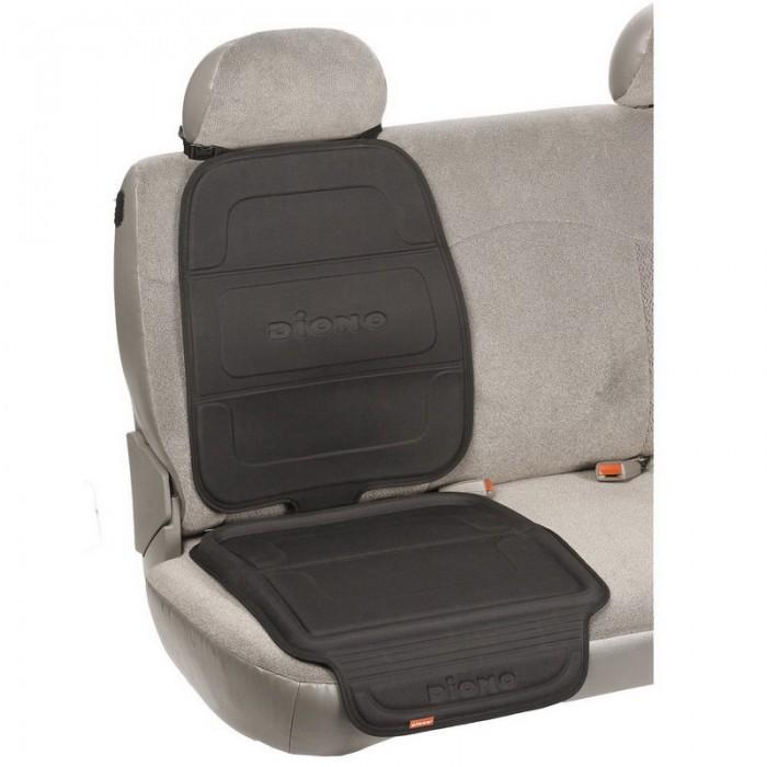 Diono Чехол-накладка для автомобильного сидения Seat Guard CompleteЧехол-накладка для автомобильного сидения Seat Guard CompleteЧехол не позволяет сползать автокреслу и обеспечивает максимальную защиту обивки сидения авто от повреждений и вмятин.   совместим со всеми автолюльками, автокреслами, бустерами (в т.ч. и ISOFIX) и базами.  рекомендуется для защиты кожаных и других автомобильных сидений подходит для любых автомобилей можно мыть приподнятая форма края задерживает грязь, крошки и любые пролитые жидкости  Размеры: ВхШ - 58 х 50 см, толщина - 3.8 см<br>