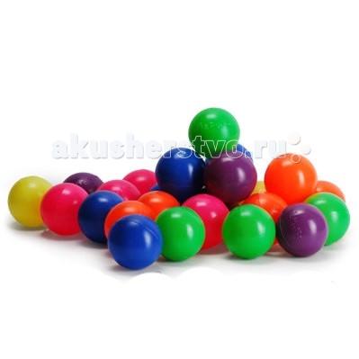 Bony 100 шаров100 шаровШарики Bony 100 шт.  Разноцветные пластиковые шарики в сетчатой упаковке разнообразят досуг ребенка. В комплект входит 100 штук, которых будет вполне достаточно для наполнения сухого бассейна, детского домика или игрового манежа. Шарики имеют приятную гладкую поверхность, обладают высокой прочностью.<br>