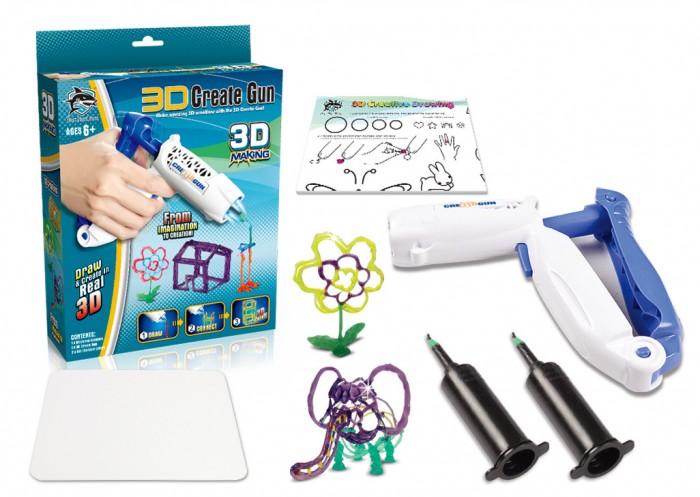 Купить Наборы для творчества, Fitfun Toys 3D-ручка детская пистолет 6602