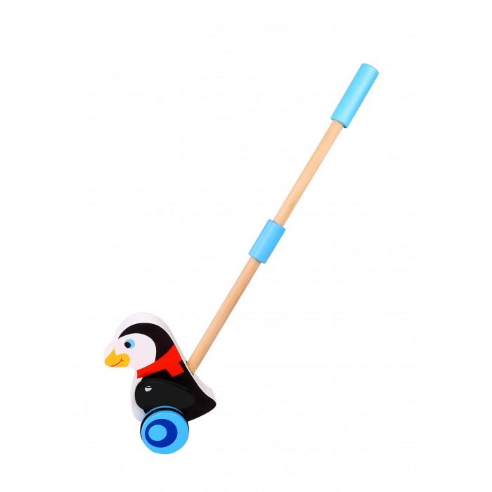 Каталки-игрушки Tooky Toy Пингвин каталки bondibon игрушка деревянная каталка с ручкой пингвин bondibon