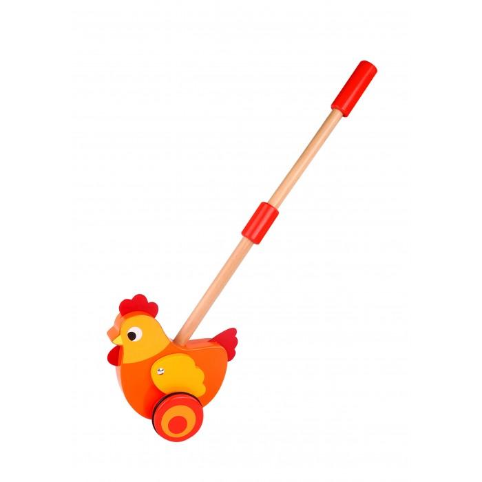 Каталки-игрушки Tooky Toy Курочка спортивный инвентарь tooky toy игра кольца