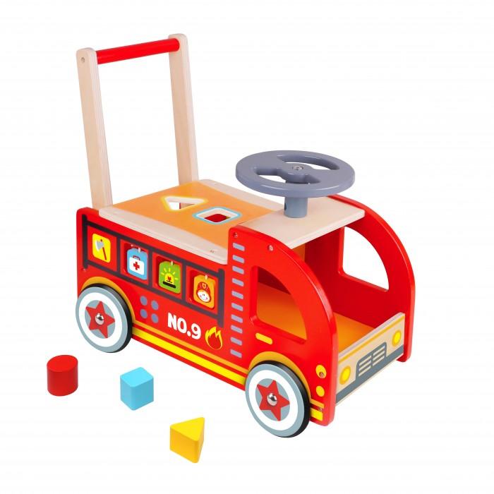 Ходунки Tooky Toy Пожарная машина, Ходунки - артикул:565231