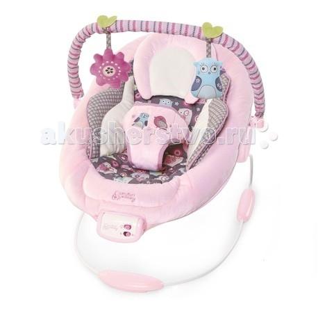 Bright Starts Кресло-качалка Комфорт и гармония Розовое гнездышко