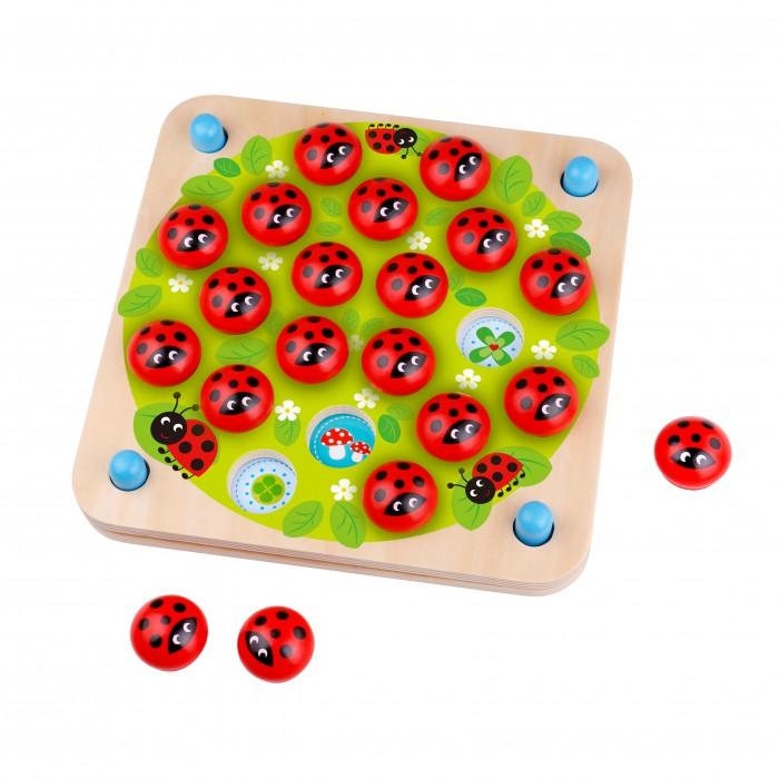 Деревянные игрушки Tooky Toy Игра на развитие памяти Божья коровка спортивный инвентарь tooky toy игра кольца