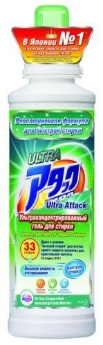 Attack Гель для стирки концентрированны Ultra 610 г