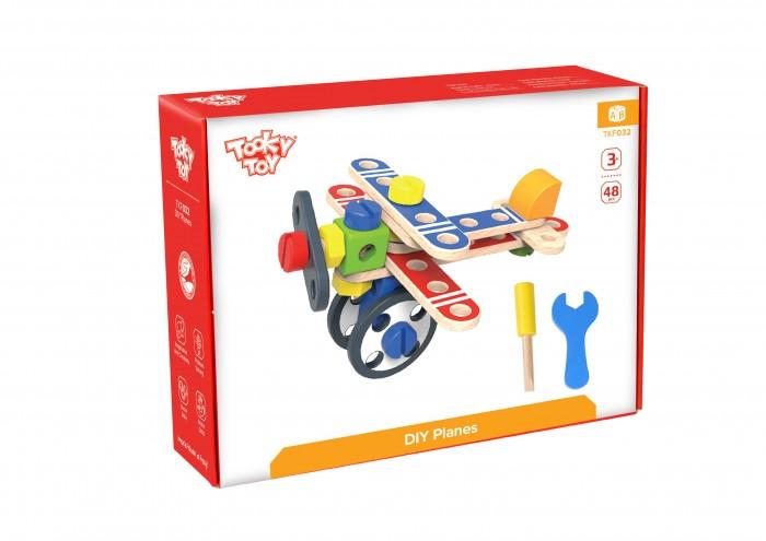 Деревянная игрушка Tooky Toy Конструктор Планеры