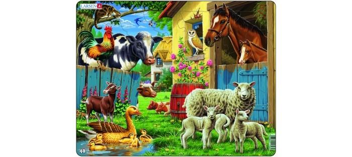 Картинка для Larsen Пазл Животные фермы