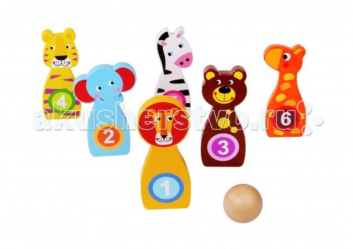 Купить Tooky Toy Детская игра Боулинг в интернет магазине. Цены, фото, описания, характеристики, отзывы, обзоры