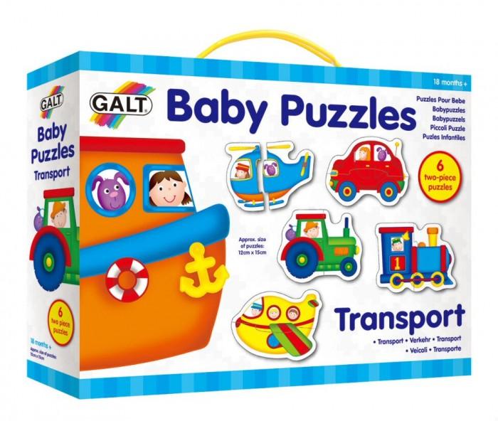 Пазлы Galt Пазл для малышей Транспорт август пазл для малышей птичка