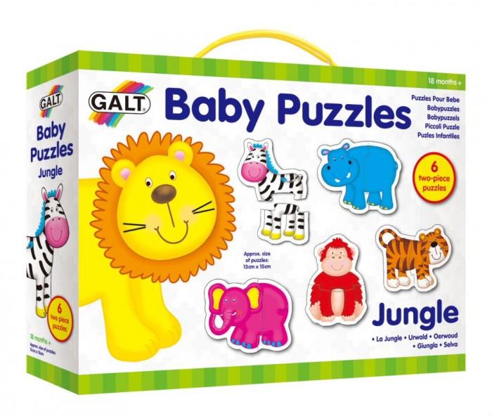 Пазлы Galt Пазл для малышей Джунгли август пазл для малышей птичка