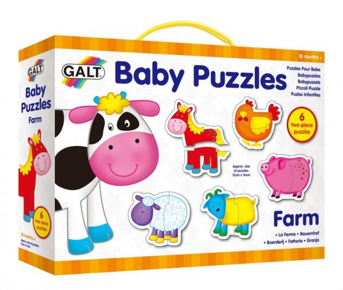 Пазлы Galt Пазл для малышей Ферма август пазл для малышей птичка