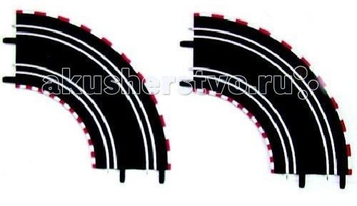 Машины Carrera Дополнение к треку Поворот на 90° carrera дополнение к треку секция смены полосы левая