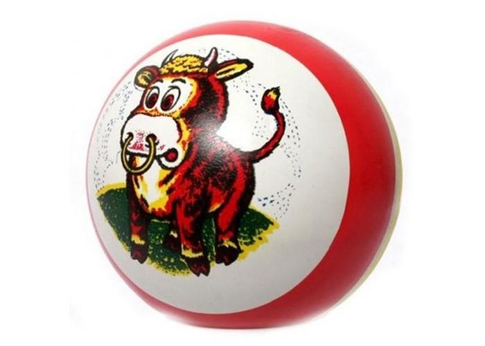 Мячики и прыгуны Русский стиль Мяч с рисунком 10 см вышивка русский стиль бабочка с пяльцами