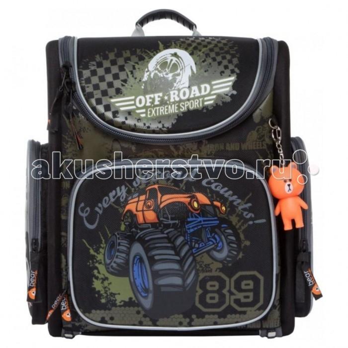 Школьные рюкзаки Orange Bear Рюкзак школьный S-20 пенал школьный феникс серый 20 10см силикон застеж молния объемный 3d дизайн 40235