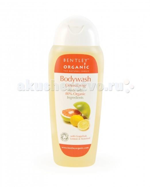 Косметика для мамы Bentley Organic Гель для душа детоксирующий с грейпфрутом и водорослями 250 мл