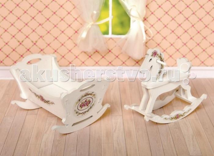 Кукольные домики и мебель ЯиГрушка Набор Детская комната коллекция Прованс