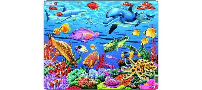 Пазлы Larsen Пазл Коралловый риф
