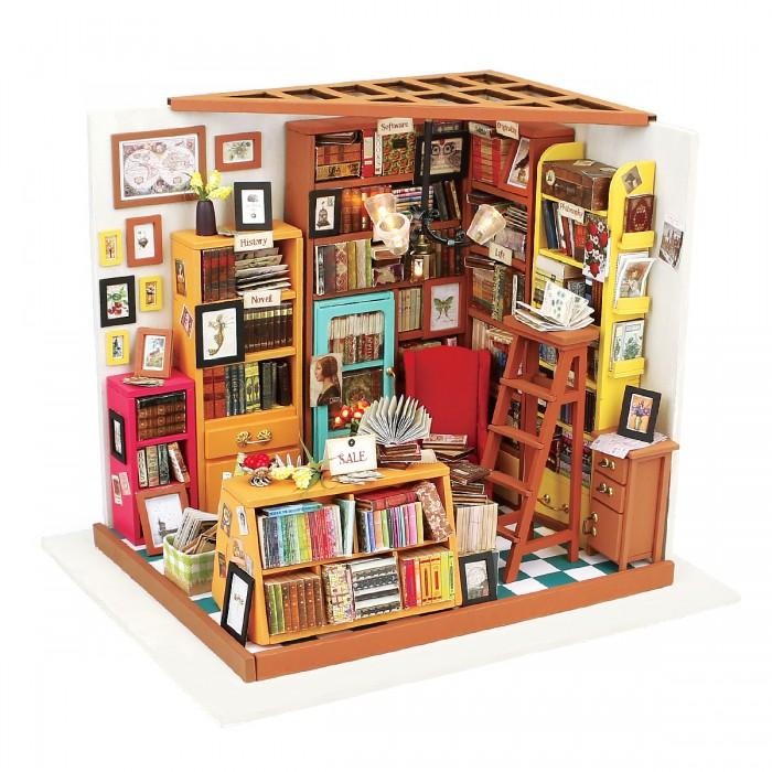 Конструктор Diy House Интерьерный для творчества Sams bookstore