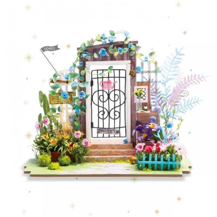 Сборные модели Diy House Интерьерный для творчества Цветочный сад румбокс интерьерный конструктор diy mini house музыкальная комната