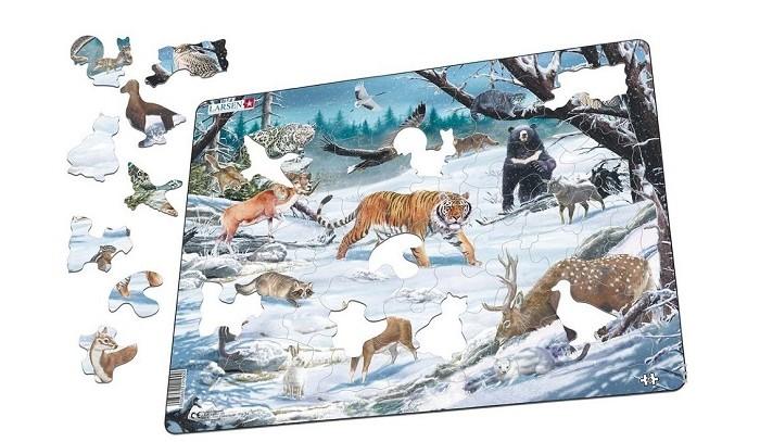 Пазлы Larsen Пазл Животные Сибири и Дальнего Востока