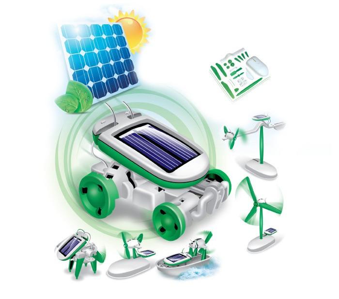 Конструкторы Bradex на солнечных батареях 6 в 1 Solar Motion