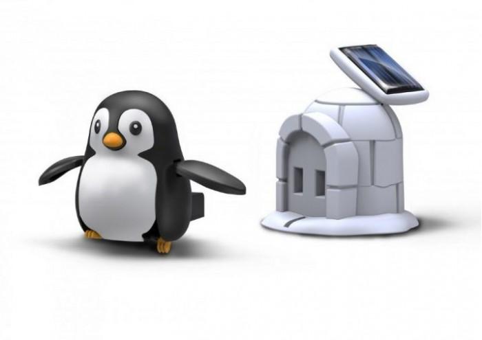 Конструкторы Bradex на солнечной батарее Пингвин
