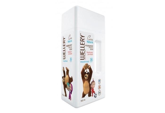 Детские моющие средства Wellery Кондиционер для детских вещей 900 мл детские моющие средства kodomo кондиционер для детских вещей мягкая упаковка 800 мл