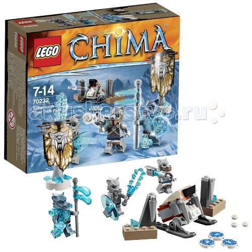 Lego Lego Legends of Chima 70232 Лего Легенды Чимы Лагерь клана Саблезубых Тигров  кусачки бокорезы sata 70232