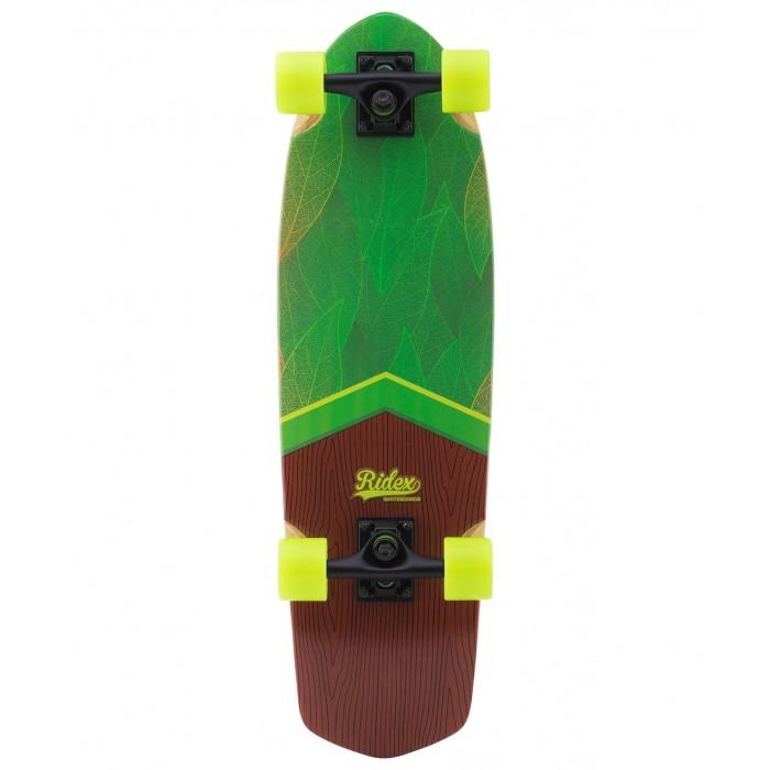 Детский транспорт , Скейтборды Ridex Круизер деревянный Eco 28.5х8.25 Abec-5 арт: 570131 -  Скейтборды