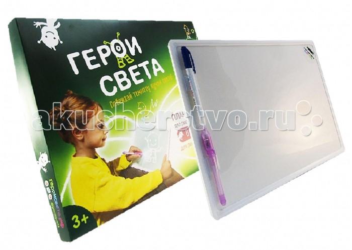 Герои Света Планшет для рисования светом и маркером 2в1 А3 PRS_3G02010