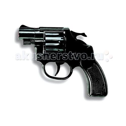 Игрушечное оружие Edison Игрушечный Пистолет Кобра/Cobra Polizei 11,5 см edison игрушечный набор с пистолетом мишенями и пульками target line santa f