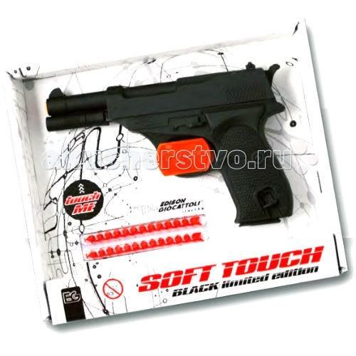 Игрушечное оружие Edison Игрушечный Пистолет с пистонами Eaglematic серия Soft Touch 17,5 см пистолет edison giocattoli dakota metall western