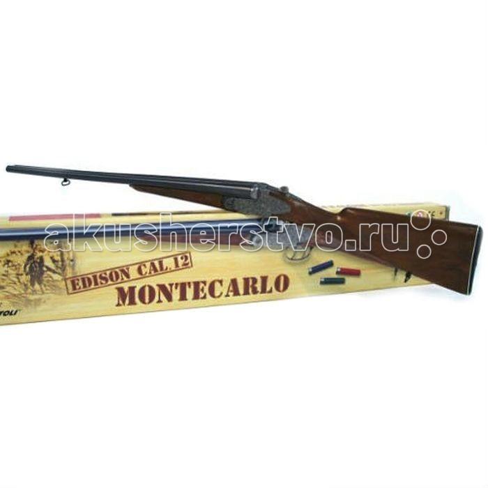 Игрушечное оружие Edison Игрушечное Ружье Монтекарло 84 см сайга 12 4 1 приклад по типу свд фанера ствол 580 мм купить