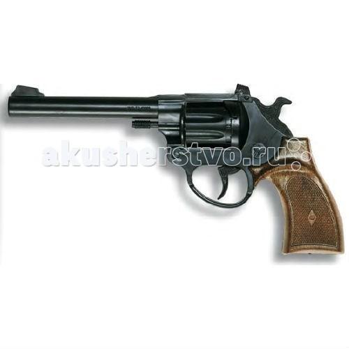 Игрушечное оружие Edison Игрушечный Пистолет Ларами 20,4 см пистолет edison giocattoli dakota metall western