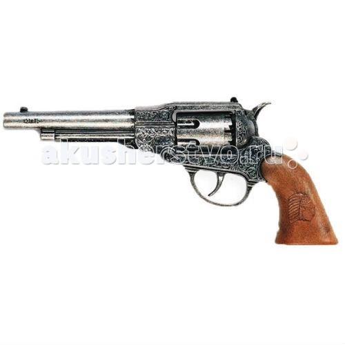 Игрушечное оружие Edison Игрушечный Пистолет Нави 22,5 см пистолет edison giocattoli dakota metall western