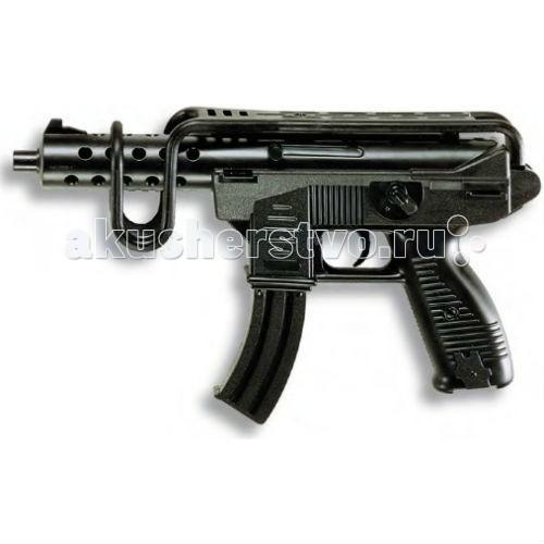 Игрушечное оружие Edison Игрушечный Автомат Узиматик/Uzimatic 50,5 см edison игрушечный набор с пистолетом мишенями и пульками target line santa f